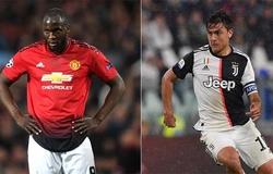 Juventus ra hạn chót cho MU để hoàn thành vụ trao đổi Lukaku - Dybala