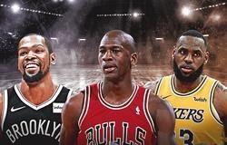 Lebron James, Michael Jordan và Kevin Durant đứng đầu về thu nhập từ giày