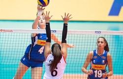 Lịch thi đấu bóng chuyền hôm nay 14/9: U18 nữ Mỹ vs U18 nữ Italia