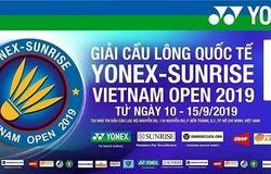 Lịch thi đấu chung kết Giải cầu lông Vietnam Open 2019 ngày 15/9