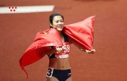 Giành HCV 100m SEA Games 30 kịch tính, Tú Chinh khiến sao nhập tịch ngã bổ nhào