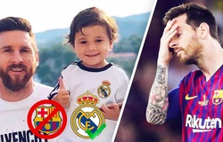 """""""Vựa muối"""" Mateo Messi thích """"cà khịa"""" đến mức nào?"""