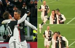 Dybala nhiều lần hôn Ronaldo trước khi nhiễm COVID-19