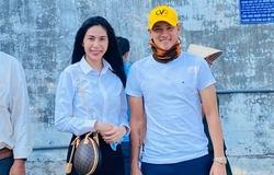 Vợ chồng Công Vinh - Thủy Tiên khoe khánh thành trạm nước ngọt tại Bến Tre