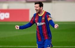 Messi đạt cột mốc ghi bàn ngoạn mục bằng đá phạt với Barca