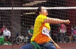 Nguyễn Thị Hải cải thiện thành tích đẩy tạ F57, xếp hạng 10 Paralympic Tokyo