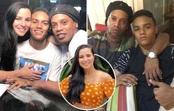 Mẹ của con trai Ronaldinho tiết lộ về mối tình khi mới gặp nhau