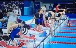 """""""Chiến binh"""" Bích Như vào chung kết bơi 100m ếch nữ SB5 Paralympic Tokyo"""