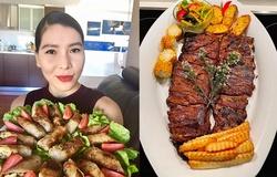 """""""Nữ hoàng tốc độ"""" Vũ Thị Hương khoe tài nấu ăn phiên bản MasterChef Australia"""
