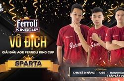 Ngược dòng cảm xúc, Sparta lên ngôi vô địch Ferroli King Cup 2020