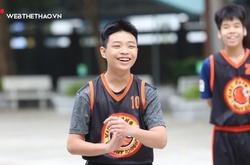 Đội bóng rổ THCS Việt Hưng: Khi nụ cười luôn thường trực