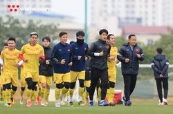 Tân binh ghi điểm trước ông Park ở nội chiến ĐTQG vs U22 Việt Nam?