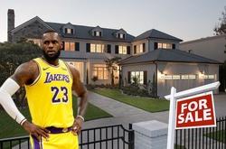 Sở hữu quá nhiều biệt thự, LeBron James giảm giá bán bớt nhà cũ