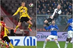 Haaland gây sốt với khả năng bật cao không kém gì Ronaldo