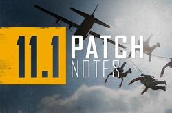 Cập nhật PUBG 11.1: Bắt đầu PUBG Season 11