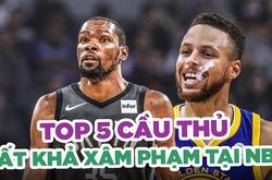 Top 5 cầu thủ không thể xâm phạm của NBA ở thời điểm hiện tại
