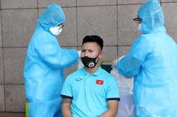 ĐT Việt Nam âm tính lần 1 với COVID-19, xét nghiệm 7 ngày/lần