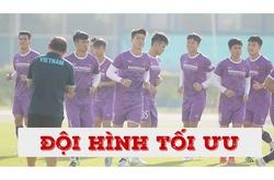 Hé lộ đội hình tối ưu của thầy Park tại VL World Cup 2022