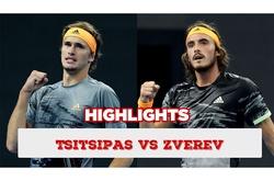 Highlights Stefanos Tsitsipas vs Alexander Zverev   Bán kết đơn nam Roland-Garros 2021
