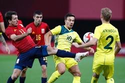 Kết quả bóng đá U23 Úc vs U23 Tây Ban Nha, Olympic 2021