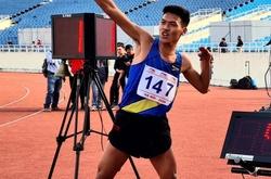 Tài năng 20 tuổi Trần Văn Đảng xuất sắc vượt mặt đàn anh Dương Văn Thái giành HCV 1500m