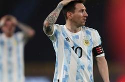 Argentina có Messi vẫn mất 4 điểm ở vòng loại World Cup 2022
