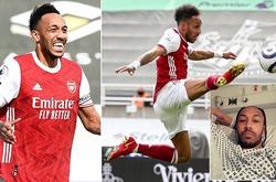 Aubameyang trải lòng về ác mộng sốt rét khi trở lại đội hình Arsenal