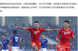 Báo Trung Quốc: Đan Mạch ở EURO 2020 làm hình mẫu cho Việt Nam tại VL World Cup 2022
