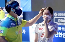 Con gái khóc vì thua cha ở vòng 2 PBA team League!