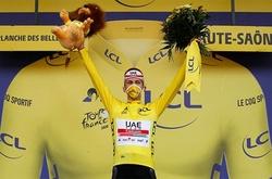"""Pogacar """"tàn nhẫn"""" xé áo vàng của Roglic ngay chặng áp chót Tour de France 2020"""