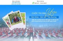 Tham gia cuộc thi ảnh mừng ngày Quốc tế Yoga để nhận quà khủng