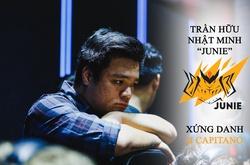 "Trần Hữu Nhựt Minh ""Junie"": Xứng danh II Capitano!"