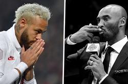 Neymar tặng bàn thắng cho huyền thoại bóng rổ xấu số