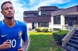 Đột nhập biệt thự xa hoa của Neymar đắt hơn cả biệt thự Ronaldo