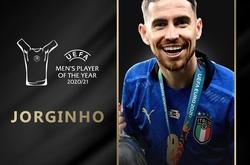 Jorginho đoạt giải Cầu thủ xuất sắc nhất UEFA 2020/21