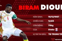 Thông tin cầu thủ Biram Diouf của ĐT Senegal dự World Cup 2018