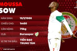 Thông tin cầu thủ Moussa Sow của ĐT Senegal dự World Cup 2018