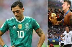 Mesut Ozil và Top 10 ngôi sao chia tay đội tuyển ở độ chín sự nghiệp (kì 1)