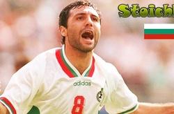 """Video hồi ký World Cup: Bulgaria và """"bông hồng đẹp nhất"""" Stoichkov"""