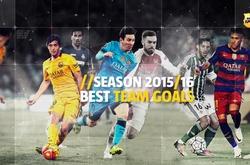 Top 10 bàn thắng ấn tượng nhất của Barca mùa giải 2015/16