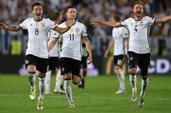 V.League với EURO 2016: Tuyển Đức giải quyết Pháp trong 90 phút