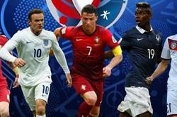 Lịch thi đấu, cặp đấu chi tiết vòng 1/8 EURO 2016