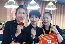 """Điểm mặt những """"bóng hồng"""" billiards dự giải carom 3 băng đầu tiên tại Việt Nam"""