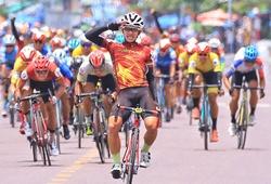 Rút đích ấn tượng, Gia Bảo thắng chặng 15 giải đua xe đạp Cúp truyền hình HTV 2021