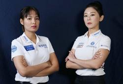"""Đại chiến mỹ nhân billiards, Kim Ga-jun đánh bại """"thánh nữ"""" Srong Pheavy"""