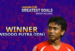 Vượt Công Vinh, bàn thắng của cựu tiền đạo Indonesia lên đỉnh châu Á
