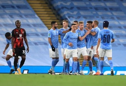 Video Highlights Man City vs Bournemouth, cúp LĐ Anh 2020 đêm qua
