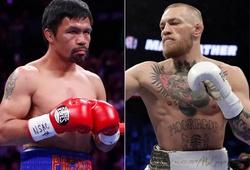 Tung clip tập luyện trở lại, Conor McGregor muốn đấu Boxing với Pacquiao