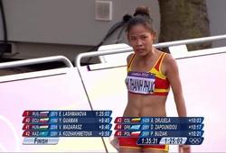 """""""Nữ hoàng đi bộ"""" Thanh Phúc nhớ quay quắt lần phá kỷ lục quốc gia tại Olympic 2012"""