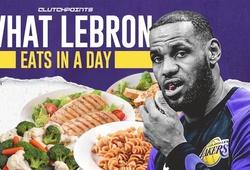 LeBron James ăn gì trước khi ra sân thi đấu?